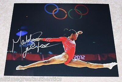 Gabby Douglas Signed 11X14 Photo W Coa 2012 London Olympics Gold Fierce 5 Rio