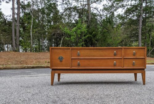 Lowboy Dresser by National Furniture ~ Mid century  tiled top