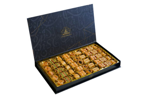 Premium Authentic Baklava Al Halaby Imported, Different Sizes