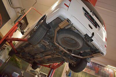 FMS 70mm Duplex Sportauspuffanlage Mercedes Vito V/W639/2 langer Radstand