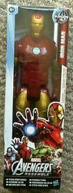 Marvel Avengers Assemble Iron Man figure