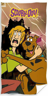 Scooby Doo Shaggy Kids Children Holiday Swimming Beach Towel 100% - Swimming Towels Kids