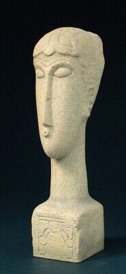 Têtes AMADEO MODIGLIANI Skulptur Parastone Museumsedition MO08 Figur