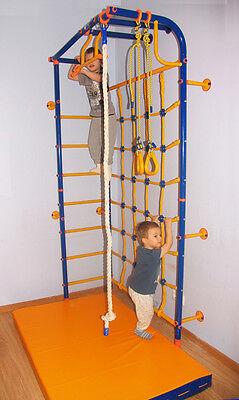Wall-Corner -Best Kid's Indoor Home Gym Playground Set Swedish (Best Home Gym Set)