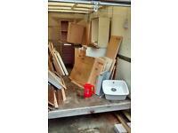 Kitchen cupboards doors tap sinks job lot