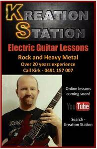 Electric Guitar lessons - specialising in Rock and Heavy Metal Conder Tuggeranong Preview