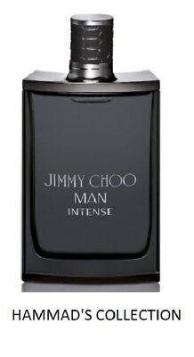 JIMMY CHOO MAN INTENSE EDT 3.4 OZ / 100 ML WITH CAP (NEW IN BROWN TST BOX)