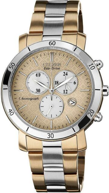 Citizen DRIVE AML 3.0 Chronograph Two-tone Ladies Watch FB1346-55Q