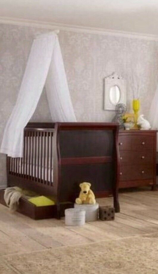 Nursery set with bed/wardrobe/chest of drawers/ toddler ...