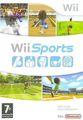 Wii Sports Nintendo jeu jeux game games spelletjes spellen 1568