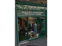 Tailor Shop Edinburgh (Sale of Business)