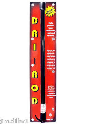 "Dri-Rod 18"" Dehumidifier Protects Gun Safe Boat RV from Humidity Moisture Mold"