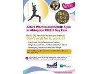 Results Gym in Abingdon FREE 3 Day Pass