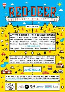 Red Deer Music Festival Burleigh Heads Gold Coast South Preview