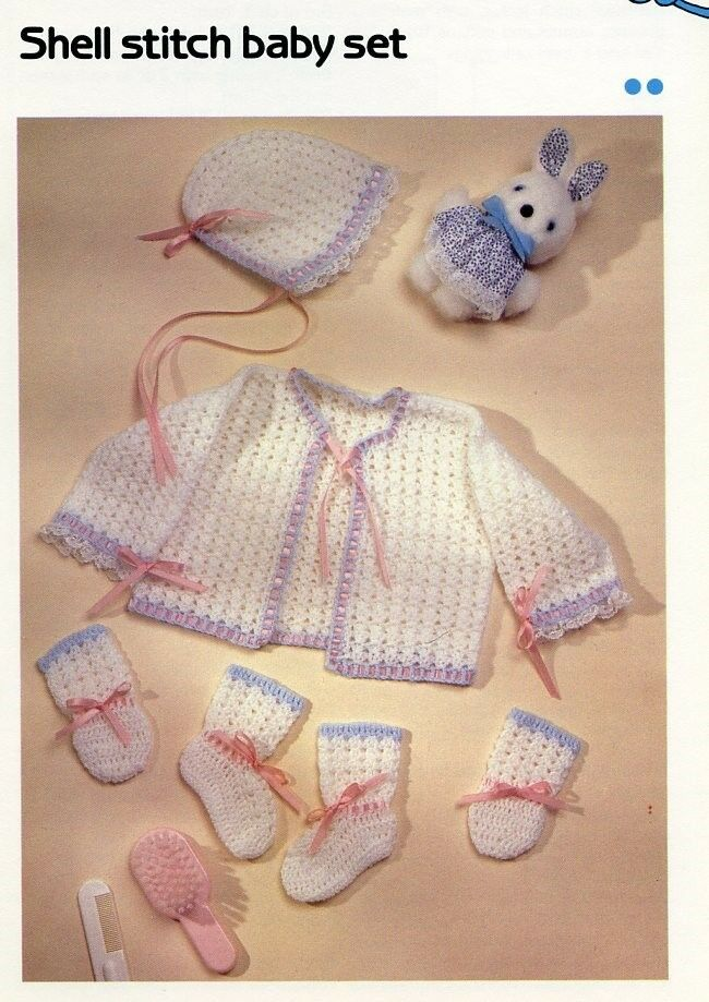Lacy Baby Afghan Cavendish Crochet Pattern//Instructions Leaflet NEW