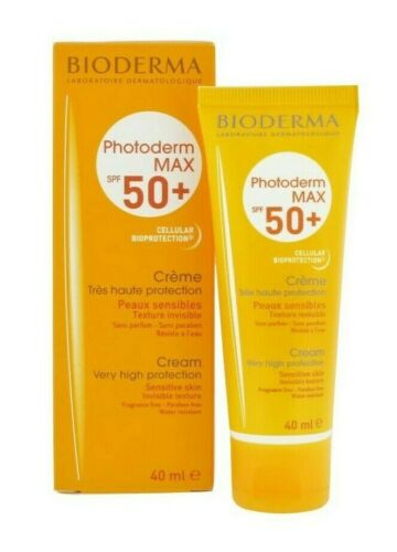Bioderma PHOTODERM Max SPF 50+ Cream Clear (colorless), 40ml (1.33oz)