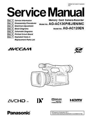 panasonic lumix dmc gh4 service manual repair guide