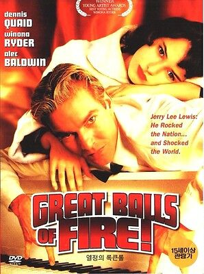 Great Balls of Fire! (1989) Jim McBride, Alec Baldwin [DVD] FAST SHIPPING