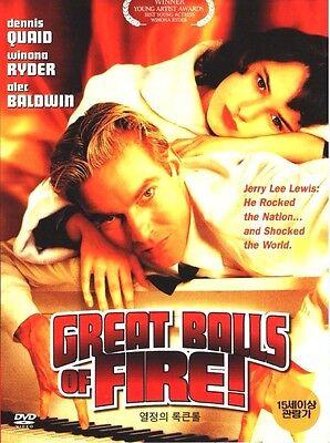 Great Balls of Fire! (1989) DVD - Jim McBride, Alec Baldwin, Winona Ryder