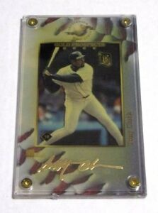 Authentic Images TONY CLARK 24K Gold PROSPECTS Signature Series Serial # /350