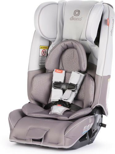 Diono 2019 Radian 3 RXT Convertible Car Seat in Grey Oyster, NEW! [open box]