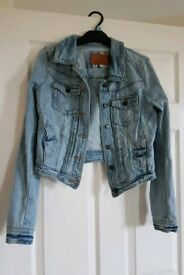 River Island denim jacket size 10.