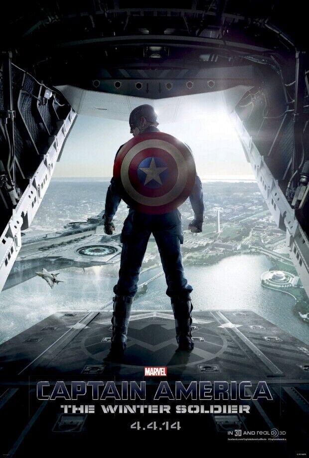 CAPTAIN AMERICA: THE WINTER SOLDIER 27X40 DS MOVIE POSTER B Chris Evans |  eBay