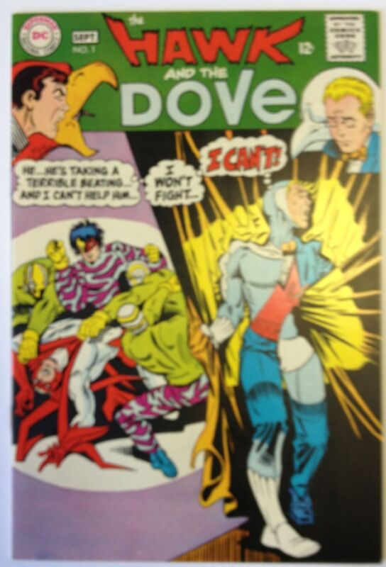 Hawk And The Dove 1, Aug-sep 1968 DC Comic