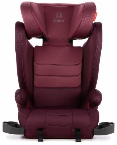 Diono Monterey XT Adjustable Headrest Child Safety Booster Car Seat Plum NEW