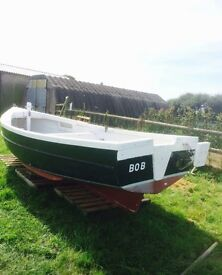 15ft Fibre glass boat