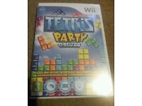 Tetris Party Wii Game