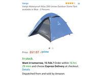 Brand New Vango 2 Man Tent (over £60 on Amazon)