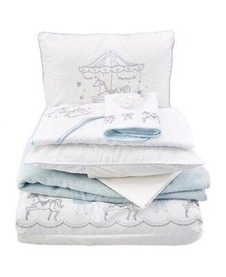 PILLOWCASE 120cm X 150cm 3 PIECE INFANT//TODDLER COT BED DUVET QUILT COVER