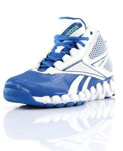 basketball shoes reebok blue/white
