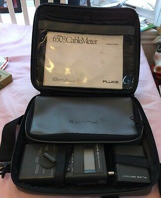 Fluke 650 Lan Cable Meter With Case Manuel