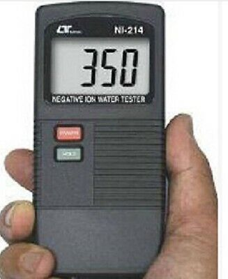 Discredit New LUTRON NI-214 Alkaline Negative Ion Water Tester Meter -1999mV~+1999mV