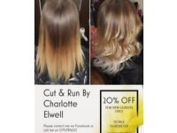 Cut & Run Mobile hairdresser By Charlotte Elwell