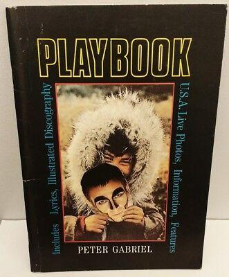 PETER GABRIEL UK Tour 1988 Program Book