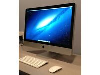 "iMac 27""Quad Core i5 2.8Ghz, 8GB RAM, OsX Sierra - Mint condition"