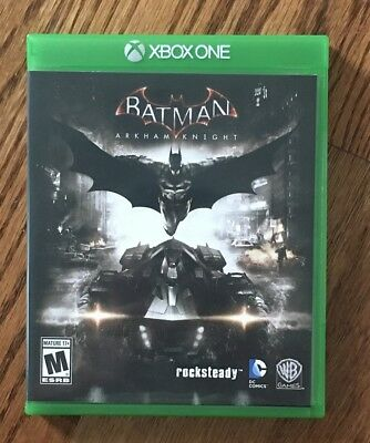 XBOX One Game - Batman, Arkham Knight for sale  Shipping to India