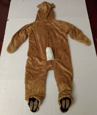 Bass Pro Shops Baby Outfit Costume Deer Plush Minky 12 Months Toddler Snowsuit  - Bass Costume