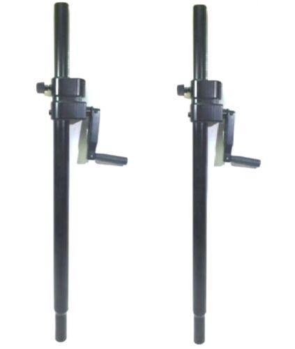 One Pair (2pcs) LASE 101 Speaker SUB Pole Mount  with folding Hand Crank