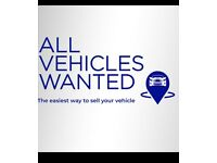 CARS VANS 4x4s WANTED