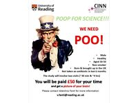 Help Science and earn 50£!! Research study looking for male participants, born and raised in the UK!