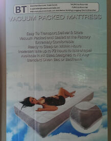 VACUUM PACKED MATTRESS - 3 FOOT/90 CM