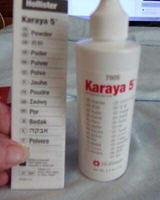 NIB Hollister #7905 Karaya 5 Powder 2.5 oz Powder