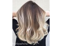 I looking for a model for balayage and highlights