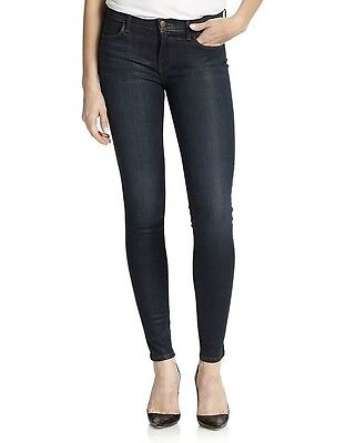 J Brand Womens Prism Super Skinny Jeans Faux Leather Trousers Leggings Pants