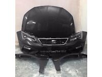 BREAKING 2013 2014 2015 2016 2017 SEAT LEON FR 2.0 MK3 FRONT END- AIRBAG KIT- ALL PARTS AVAILABLE