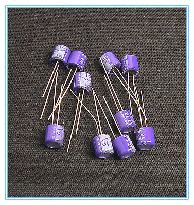 10pcs 33uf 16v Sanyo Polymer Capacitors 16v33uf Low Esr Sanyo